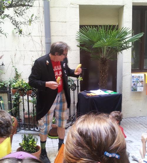 Mago-clown en la Fiesta de Fin de Curso de Niños y Jóvenes