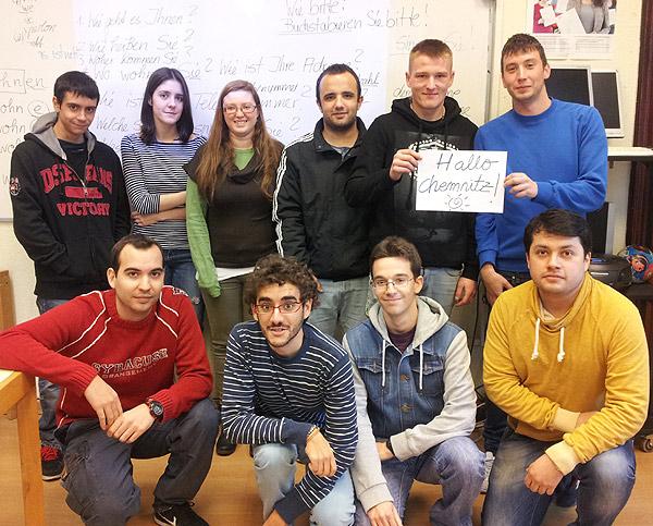 Participantes en el proyecto de movilidad europea Mobipro-EU