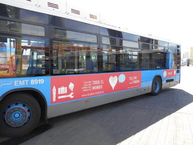 El autobús TANDEM - Marzo 2015