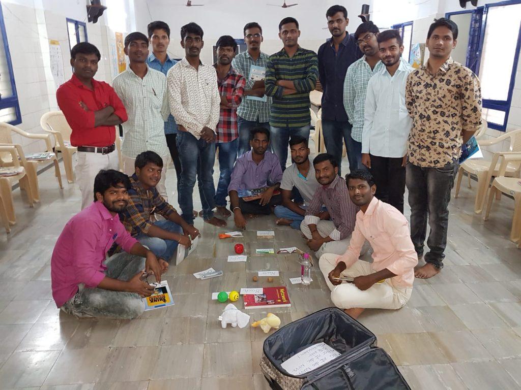 Clases de alemán en la India con la Fundación Vicente Ferrer