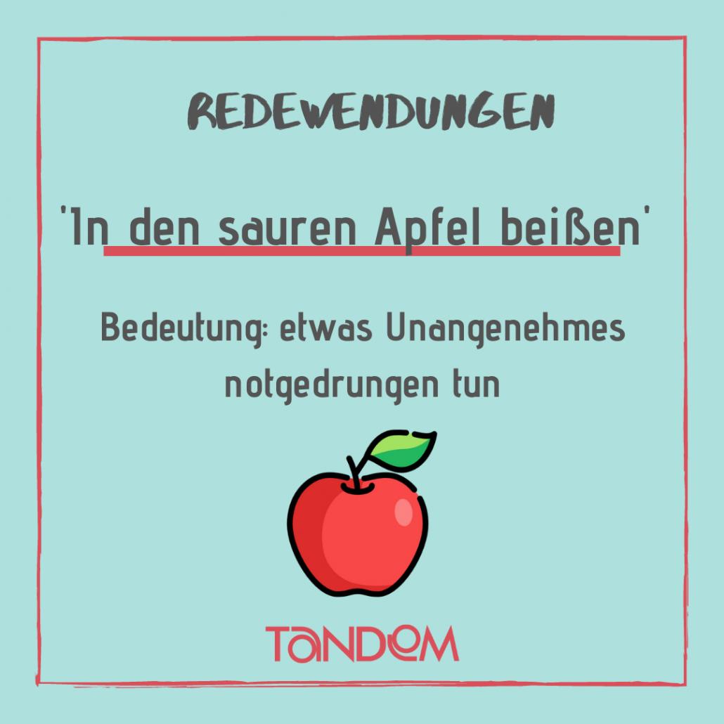 Aprender alemán. Refranes alemanes. Redewendung