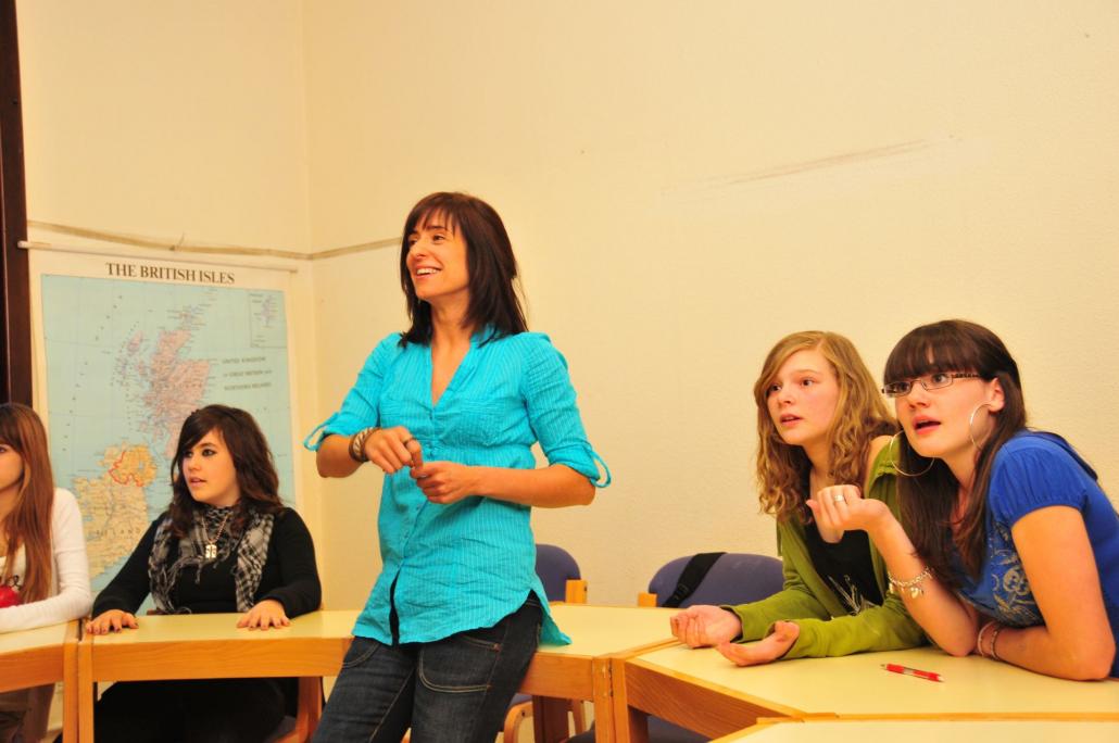 Extraescolares de alemán e inglés para colegios e institutos.