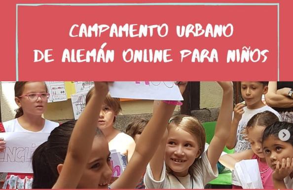 Campamento urbano online verano para niños y adolescentes