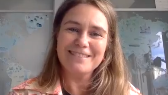 Leonor es madre de dos niños que aprenden alemán en TANDEM Madrid